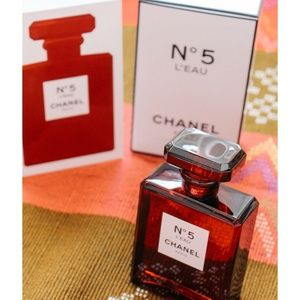 Brand New Chanel N°5 L'eau Red 3.4oz Never Opened